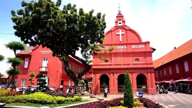 Malacca - church