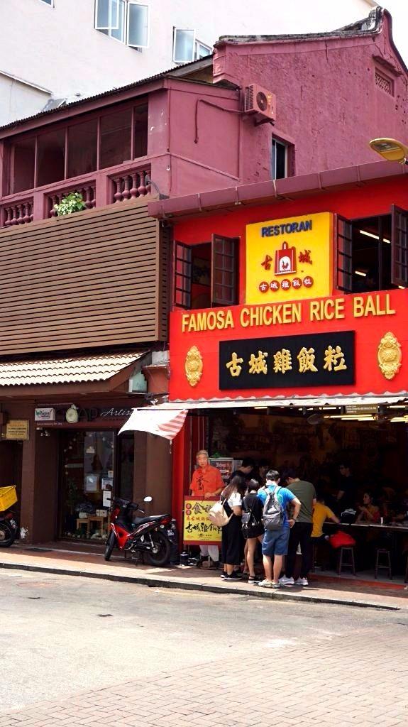 Malacca - famosa restaurant