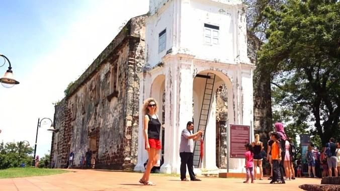 Malacca - st paul church2