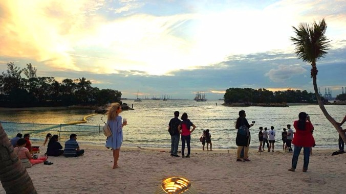 Singapore - Sentosa beach