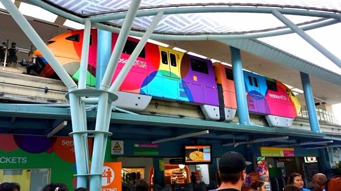 Singapore - Sentosa monorail