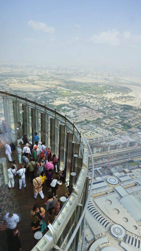 Dubai - burj khalifa deck