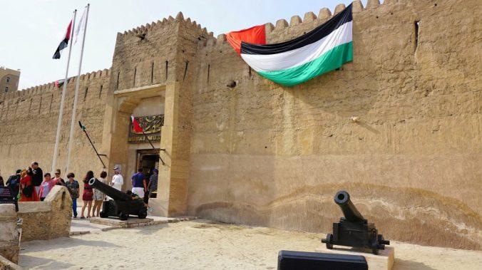 Dubai - museum entrance
