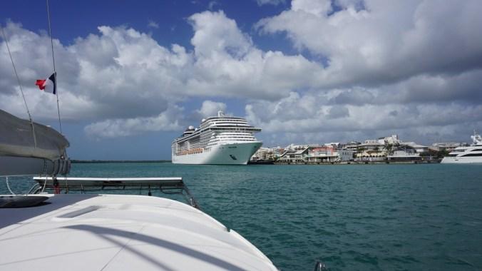 Guadeloupe - ship
