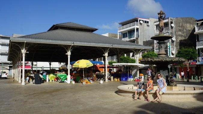 Guadeloupe - spice market