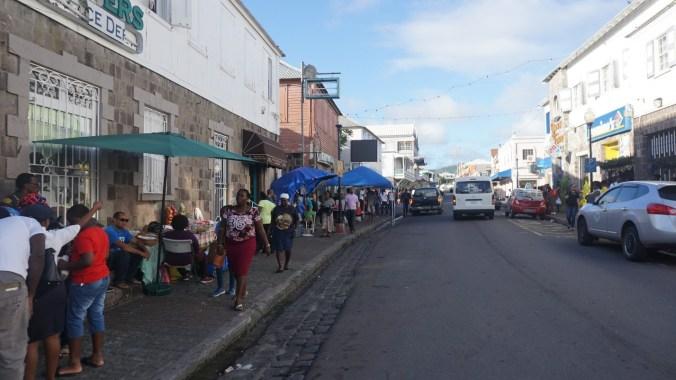 St. Kitts si Nevis - basseterre downtown2