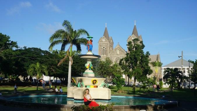 St. Kitts si Nevis - church