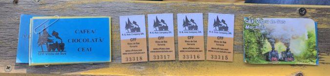 Mocanita - tickets
