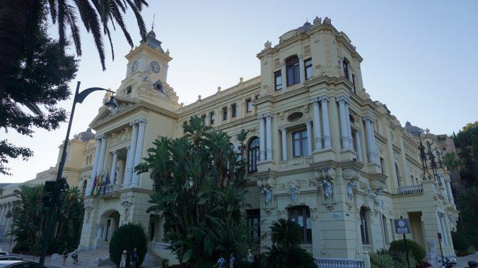 Malaga -city hall
