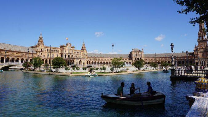 Sevilia- plaza espagna