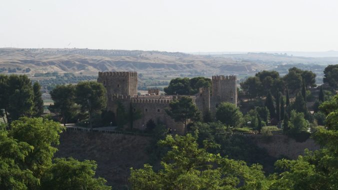 Toledo - san servando castle