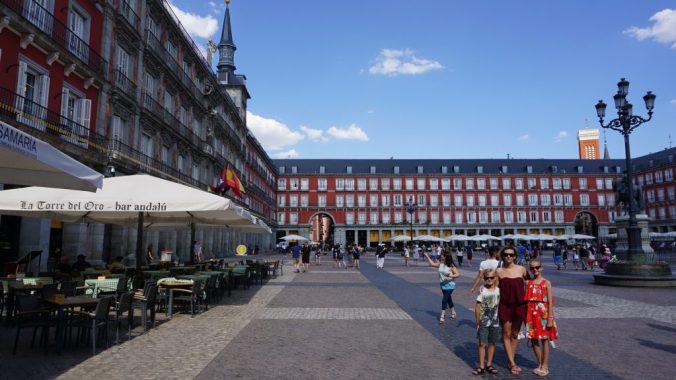 madrid- plaza de espagna