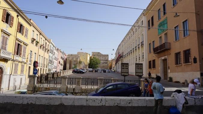 Cagliari - piazza del palazzo