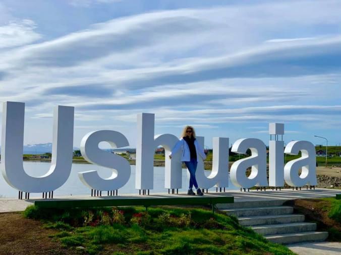 Ushuaia - sign