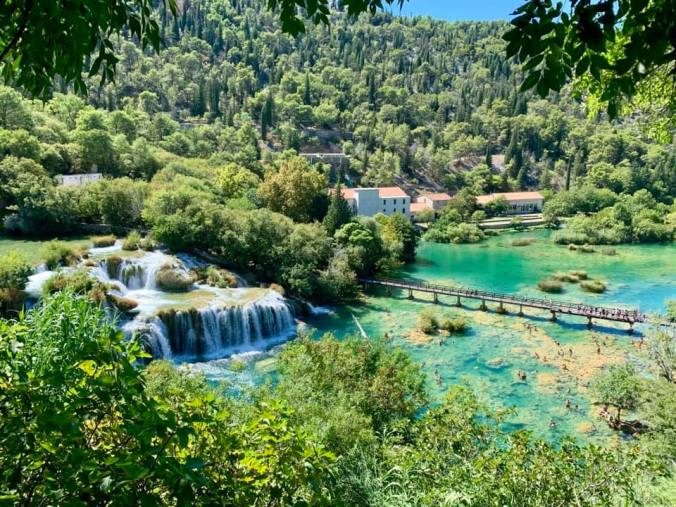 krka - big waterfall