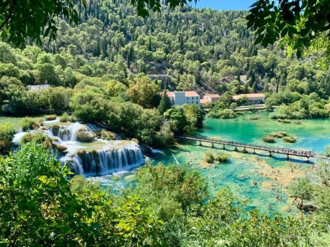 krka - big waterfall