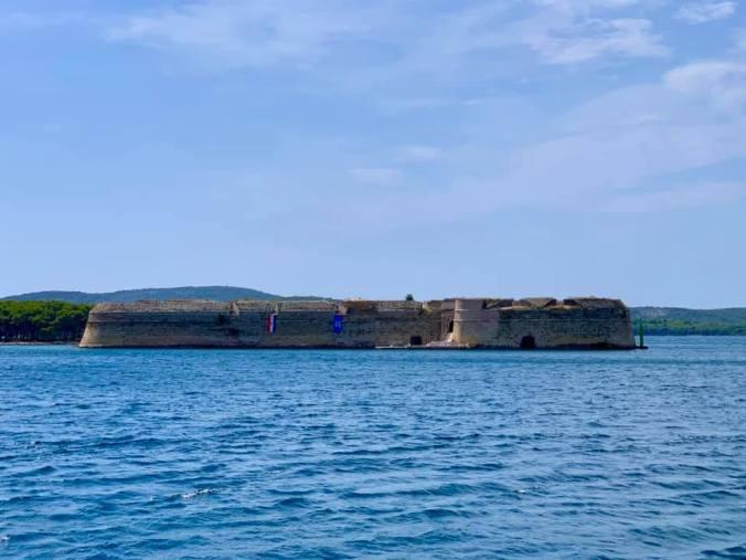 sibenik - st nicholas fortress