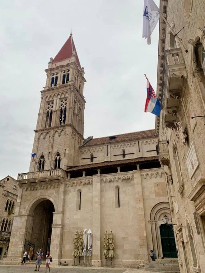 trogir - cathedral