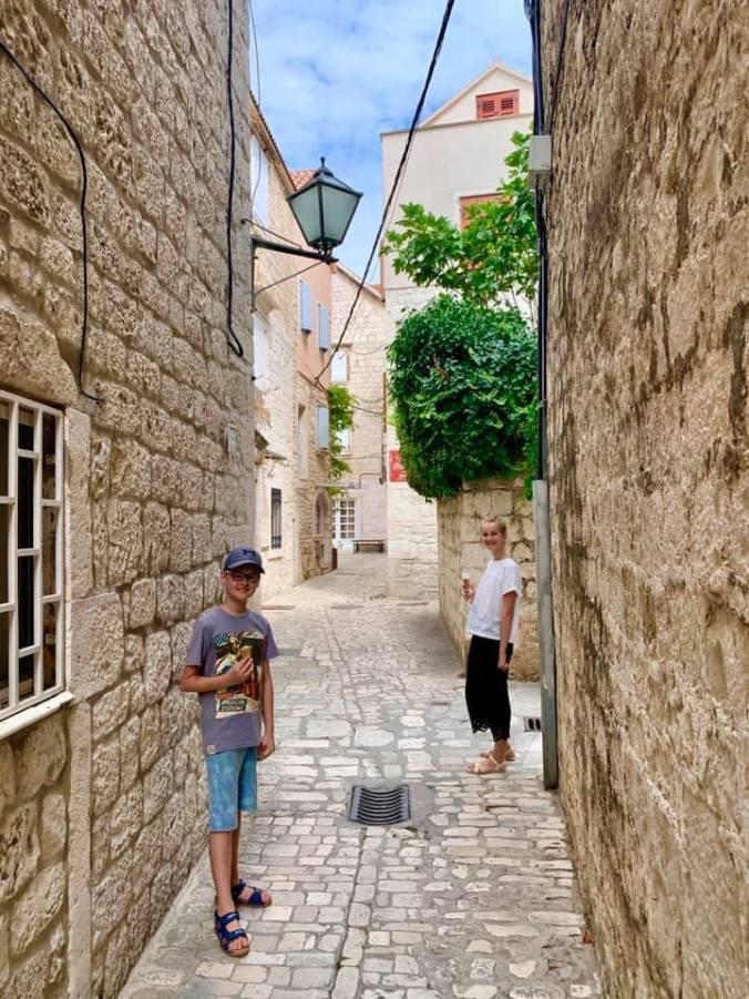 trogir - old town
