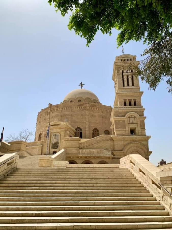 egipt - st george chruch cairo