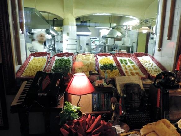 La favolosa cucina a vista