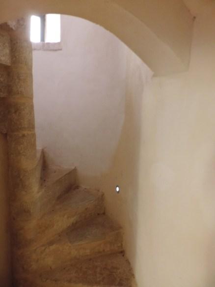 Castello di Monteserico il percorso interno