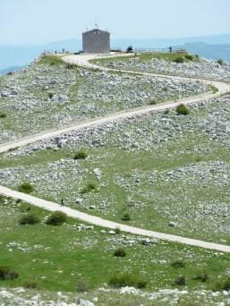 La Strada per Monte Raparello