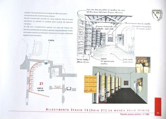 Foto di tavola di progetto, autori M. Gerardi, R. Sapio, E. Bourgeois