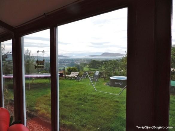 Vista da casa - Bentham - UK 2014