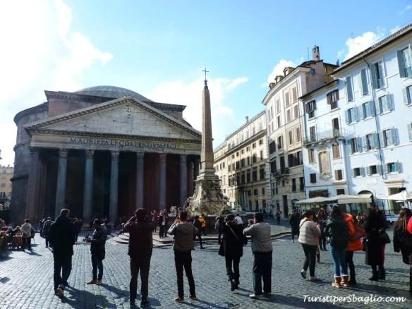 Roma, piazza della Rotonda