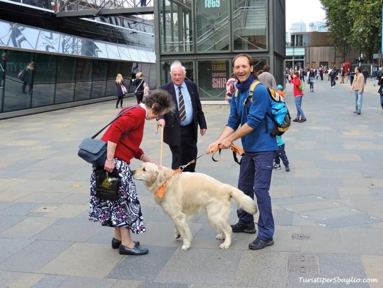 Londra Greenwich, Frodo e nuovi amici Turisti per Sbaglio