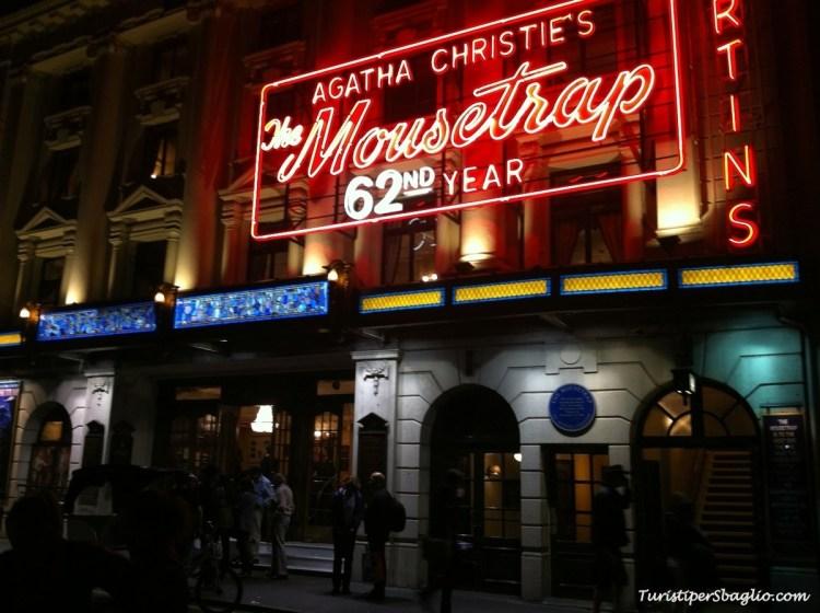 UK 2014 - London -St Martin's Theatre