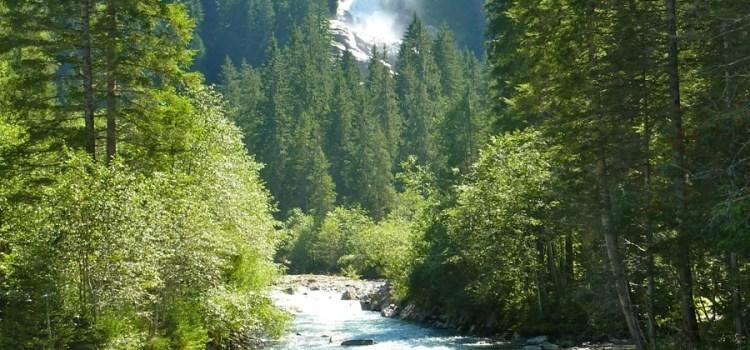Austria – Krimml Wasserfall e disorientanti burka