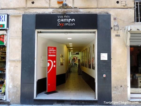 Genova, Via del Campo, 29 Rosso - 1