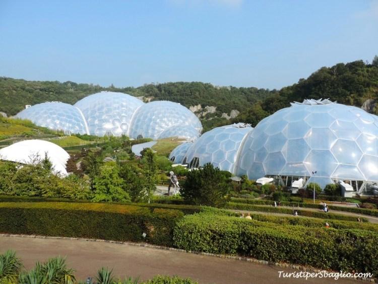 Eden Project Cornovaglia Gran Bretagna