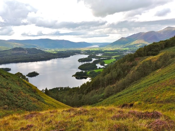 3) Lake District Derwent Water, Walla Crag, Keswick - 074