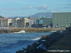 Vista dal Porto di San Sebastian