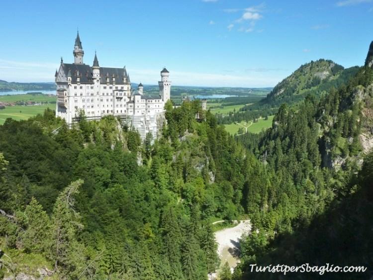 Germania on-the-road castello neuschwanstein