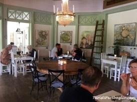 Ystad, il caffè di Norra Promenaden