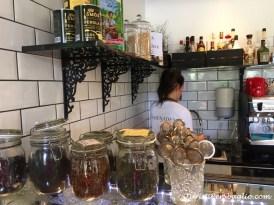 Scania: visita ad Ystad, il caffè di Norra Promenaden