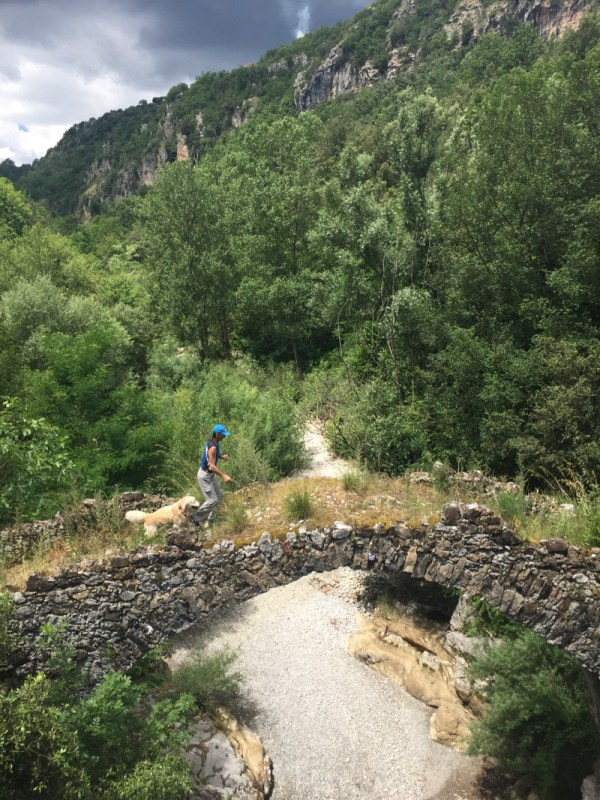 Parco Nazionale del Cilento, Ponte a Schiena d'Asino
