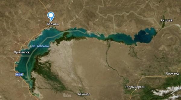 Озеро Балхаш в Казахстане — фото, почему вода соленая и ...