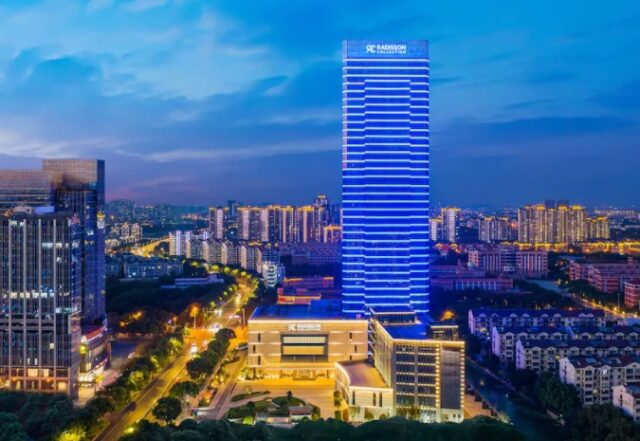 Radisson Collection opens new hotel in Wuxi, China