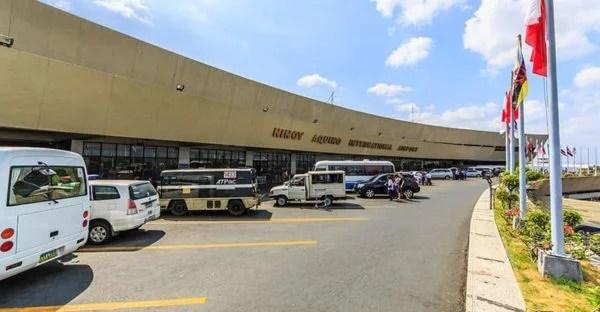Manila'daki Ninoy Aquino Uluslararası Havaalanında, uçuş yapılamıyor.