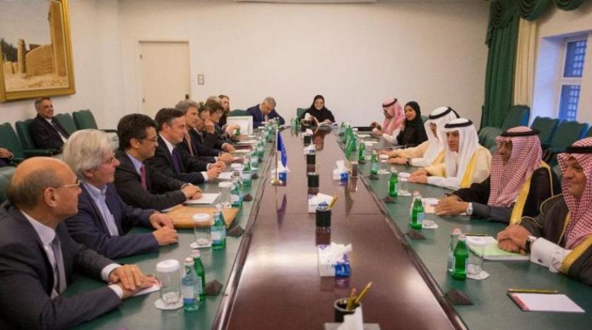 Suudi Arabistan Dışişleri Bakanı Avrupa Parlamentosu'ndan bir heyet kabul etti