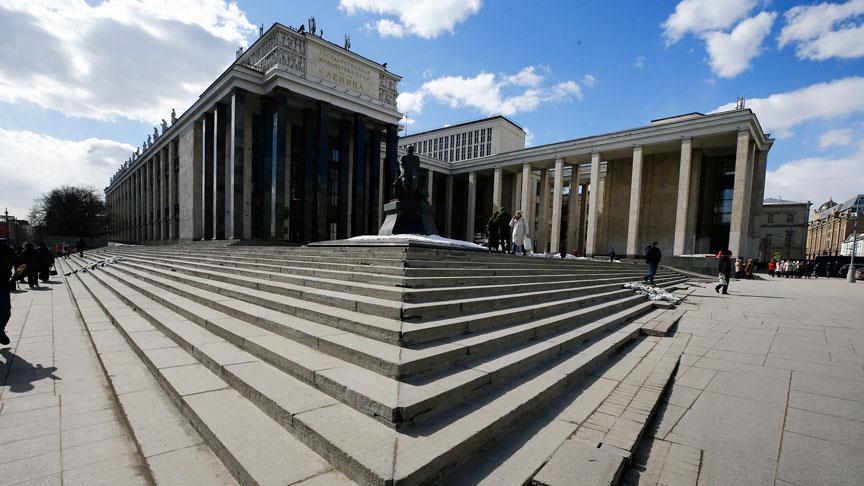 Devrimlerin yıkamadığı kütüphane: Rusya Devlet Kütüphanesi