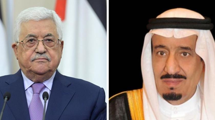 Kral Selman ile Mahmud Abbas telefonda görüştü