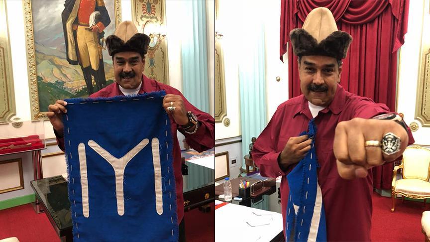 Maduro'nun Diriliş Ertuğrul ilgisi
