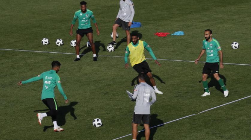 Suudi Arabistan'da Dünya Kupası öncesi moraller yerinde