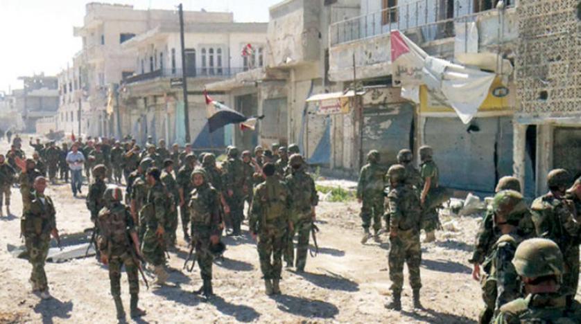 Suriye'deki tartışmalı 10 sayılı kanun El-Kusayr'da hayata geçiriliyor